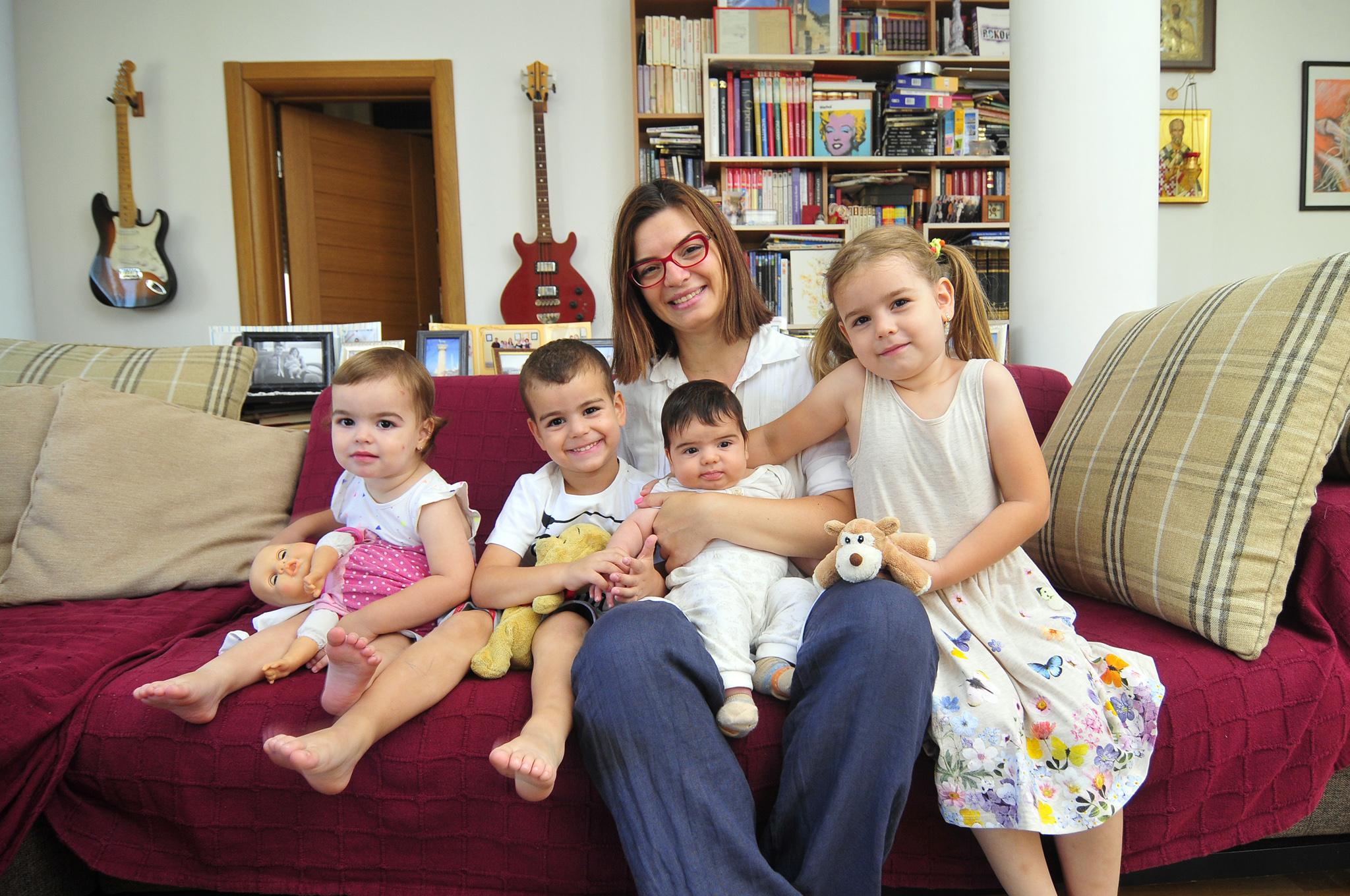 novi sad 21.07.2016 blic zena u srcu zene Milena kostic Introventna majka foto Robert Getel