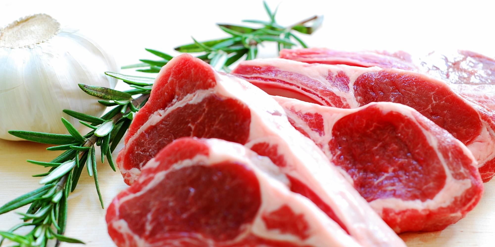 Lamb chops and rosemary